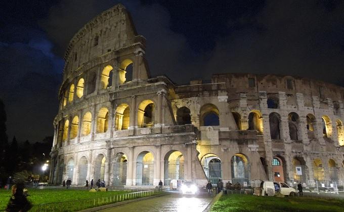 yuローマ夜コロッセオ2