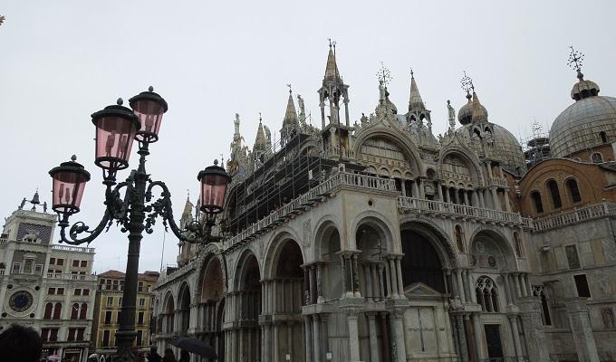 yuベネチアサンマルコ寺院