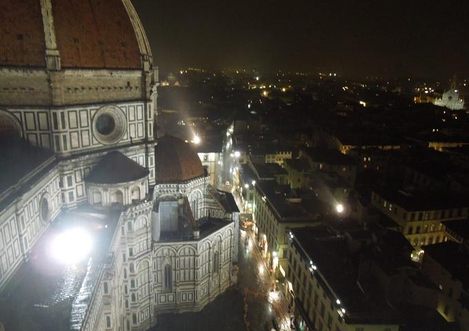 yuフィレンツェ大鐘楼からの眺め