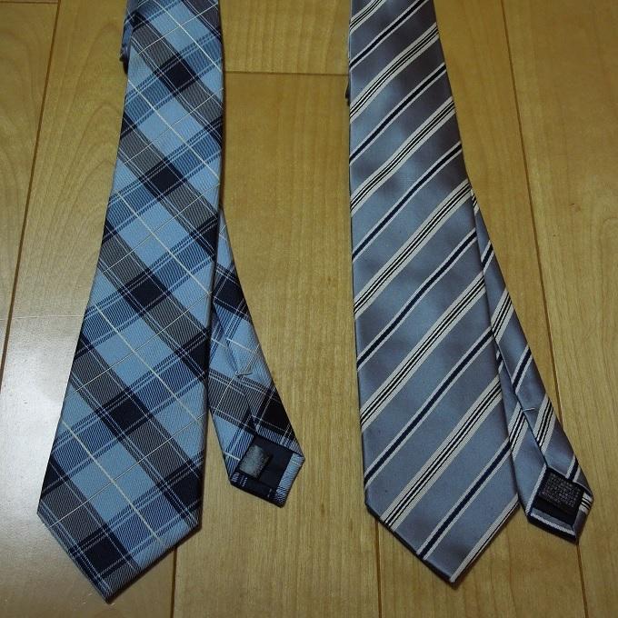 無難な柄のネクタイ