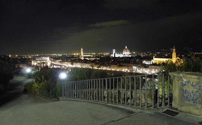 yuフィレンツェミケランジェロ広場からの景色