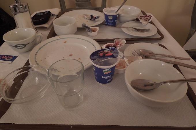 yuフィレンツェ朝食完食