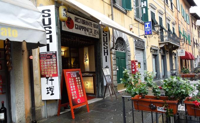 yuフィレンツェ斜塔への道3