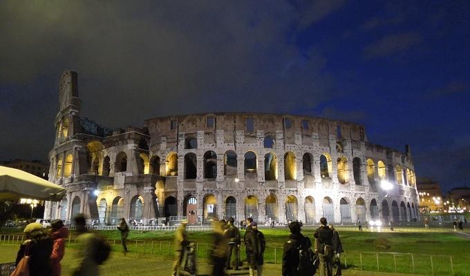 yuローマ夜コロッセオ1
