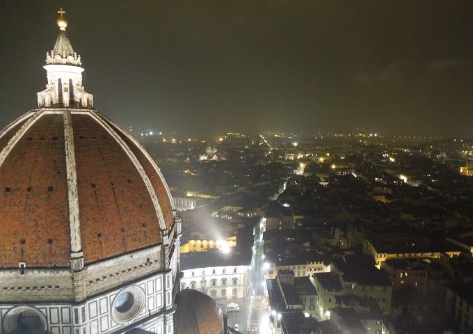 yuフィレンツェ大鐘楼からの眺め1