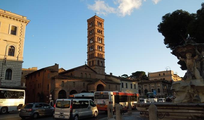 yuローマ真実の口の教会