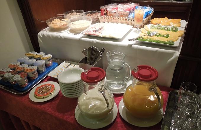 yuベネチア朝食1