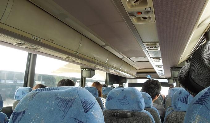 yuサイパンホテル行きのバス
