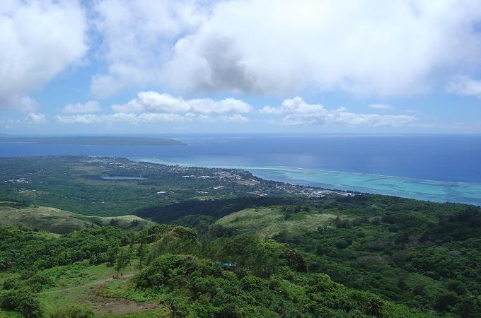 yuサイパン山頂からの眺め