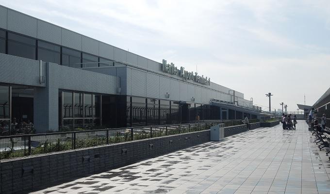 yuサイパン成田の屋上