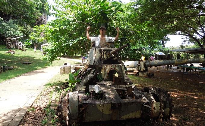 yuサイパン戦車
