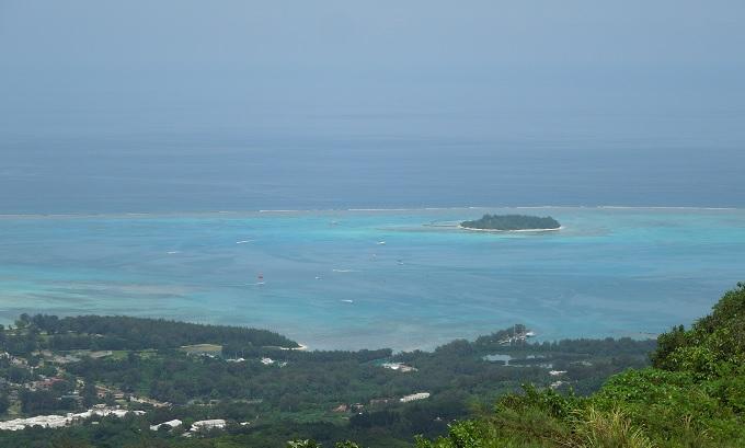 yuサイパン頂上マニャガハ島