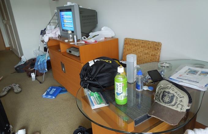 yuサイパン2日目の部屋