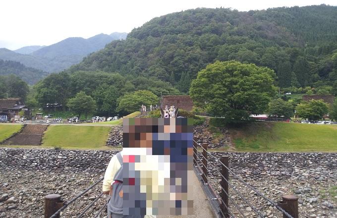 yu白川郷の橋