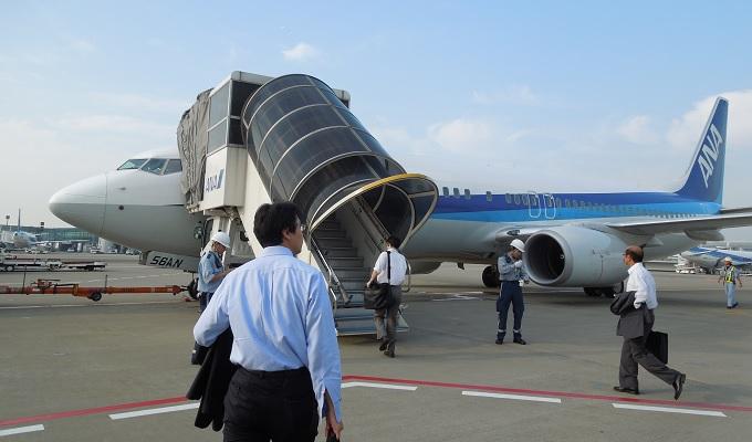 yu羽田の飛行機
