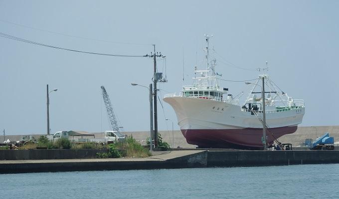 yu船からの眺めで船発見