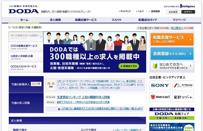 ユウDODAホームページ画像