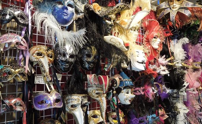 yuベネチア仮面の店