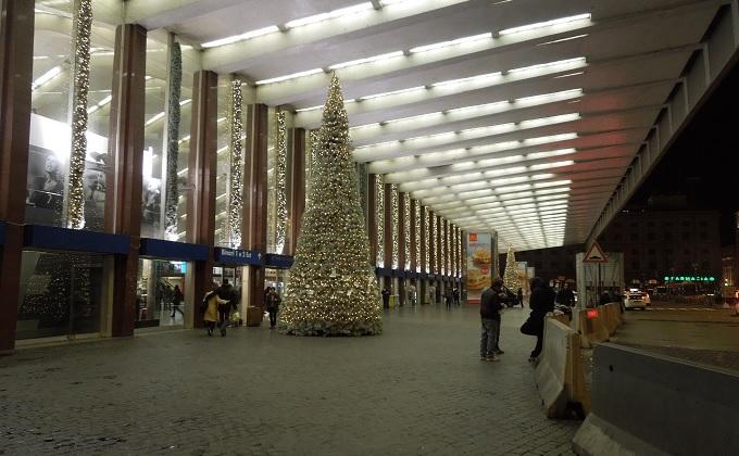 yuローマ2日目夜テルミニ駅