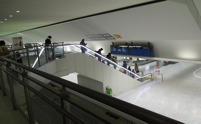 yuローマ帰国成田空港