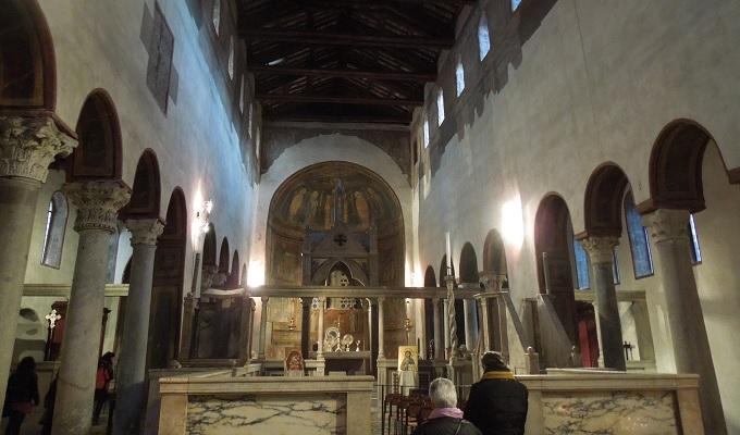 yuローマ真実の口の教会1