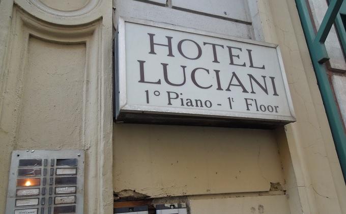 yuローマ帰国ホテル
