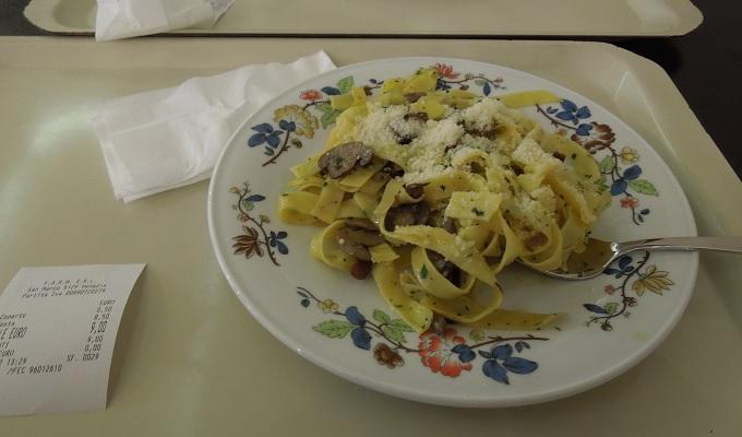 yuベネチア昼食