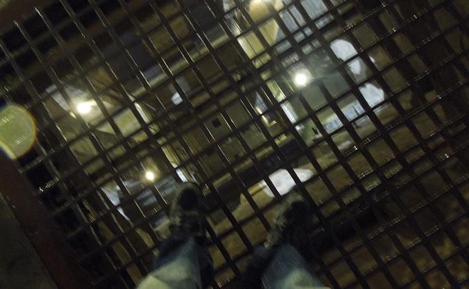 yuフィレンツェ大鐘楼を登る途中の床