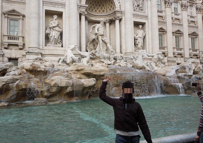 yuローマトレヴィの泉