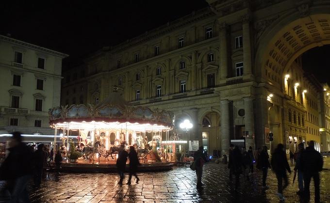yuフィレンツェ夜の街3