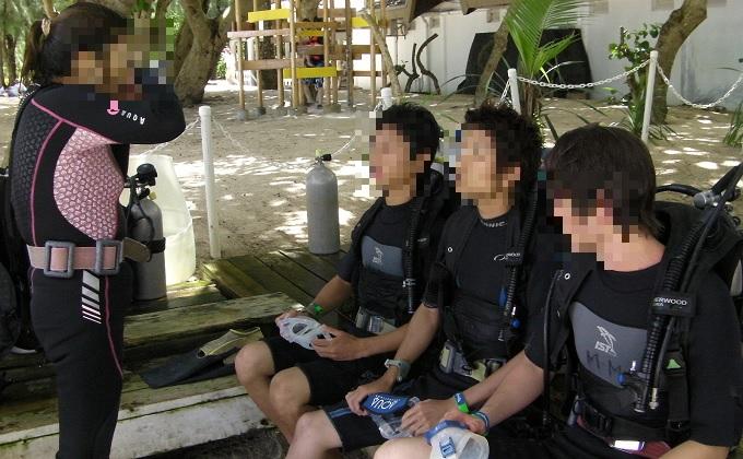 yuサイパンスキューバダイビングコーチング