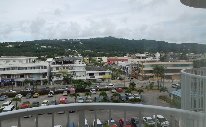 yuサイパンホテルからの眺め