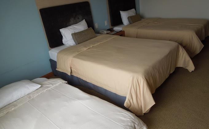 yuサイパンホテルの部屋の様子