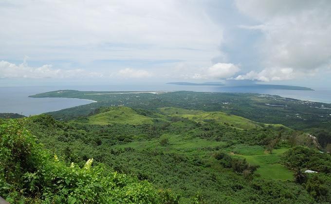 yuサイパン山頂上からの眺め
