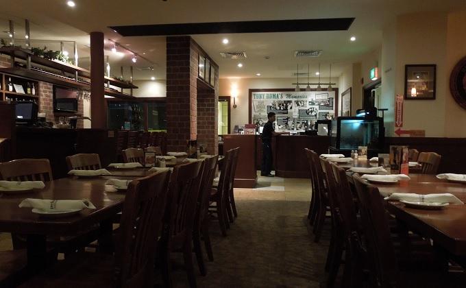 yuサイパン最後の夕食のお店