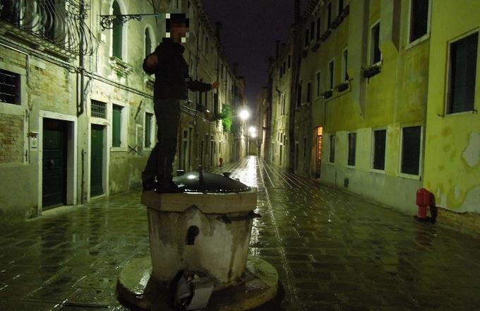 yuベネチア夜の街2