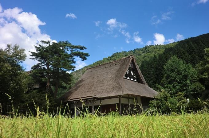 yu白川郷の絵になる写真