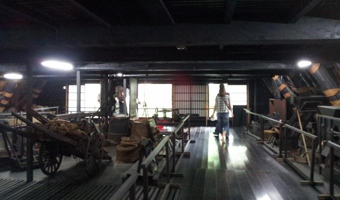 yu白川郷の重要文化財の中